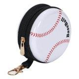 フック付マルチミニ缶ケース(小物入れ) オリジナル野球ボール型