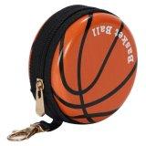 フック付マルチミニ缶ケース(小物入れ) オリジナルバスケットボール型