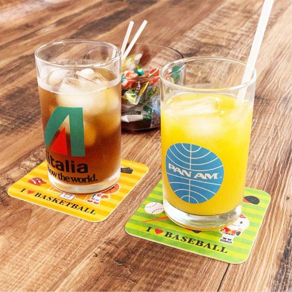 卒業期間限定セール  バスケットボール柄のオリジナル厚紙コースター 5枚セット【画像5】