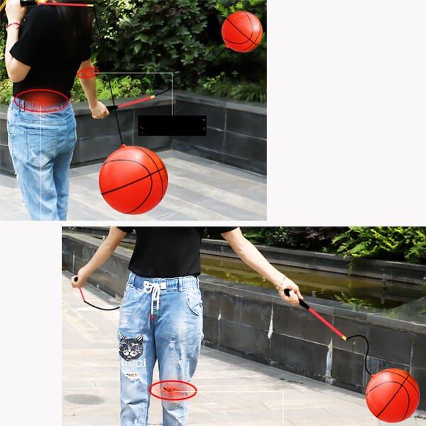 意外とおもしろいフィットネスグッズらしいおもちゃ  バスケットボールタイプ 2セット【画像2】