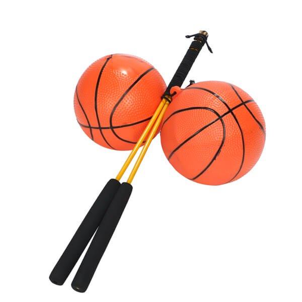 意外とおもしろいフィットネスグッズらしいおもちゃ  バスケットボールタイプ 2セット【画像4】