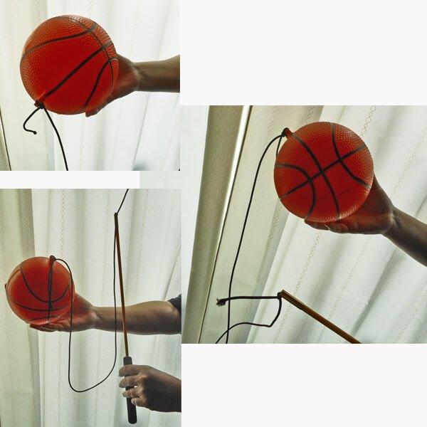 意外とおもしろいフィットネスグッズらしいおもちゃ  バスケットボールタイプ 2セット【画像8】