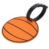 存在感抜群で可愛い バスケットボール型のネームワッペン(迷子札)