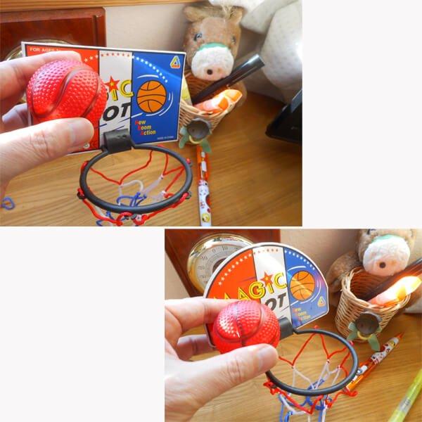 子供用ミニバス フリースローセット(バスケットゴールとボール) 1個【画像3】