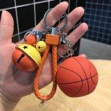 よくばりキーホルダー イルミネーションバスケットボール (大きい鈴/小さい鈴/大繩/フック)