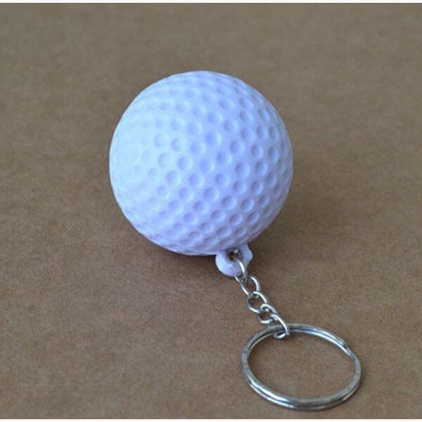 やわらかいゴルフボールキーホルダー 1個【画像2】
