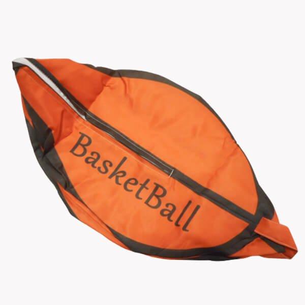 ユニークなバスケットボール収納袋【画像4】