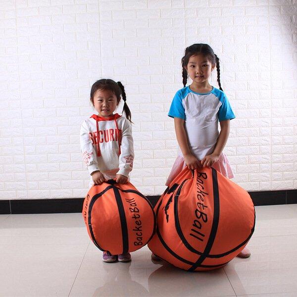 ユニークなバスケットボール収納袋【画像6】
