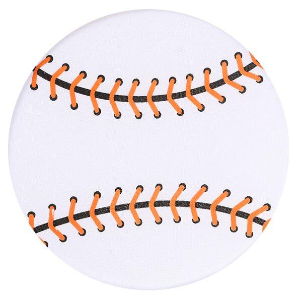 アウトレット 野球ボール型のソフトフリスビー