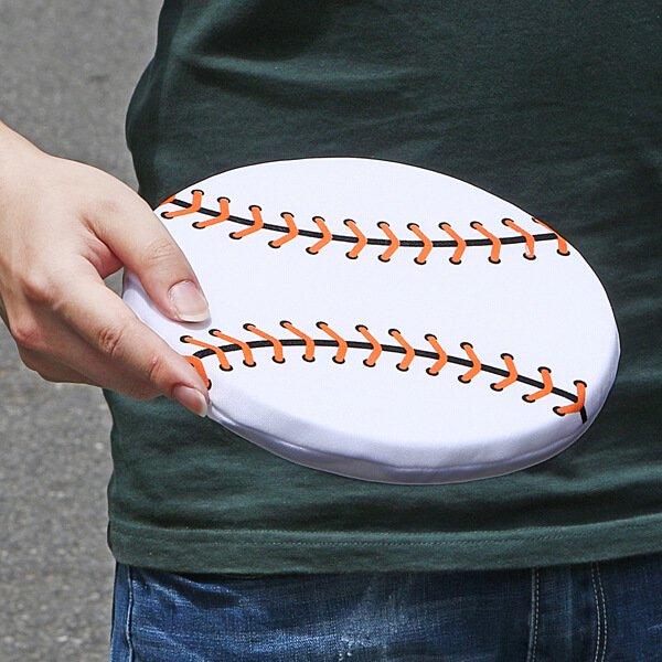 アウトレット 野球ボール型のソフトフリスビー【画像3】
