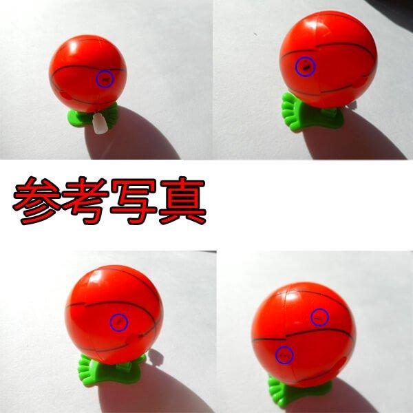 アウトレット(インクミスあり) バスケットボール型 ぴょこぴょこボール【画像4】