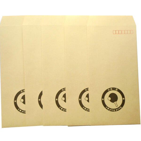 卓球柄を入れたオリジナル封筒 5枚セット【画像4】