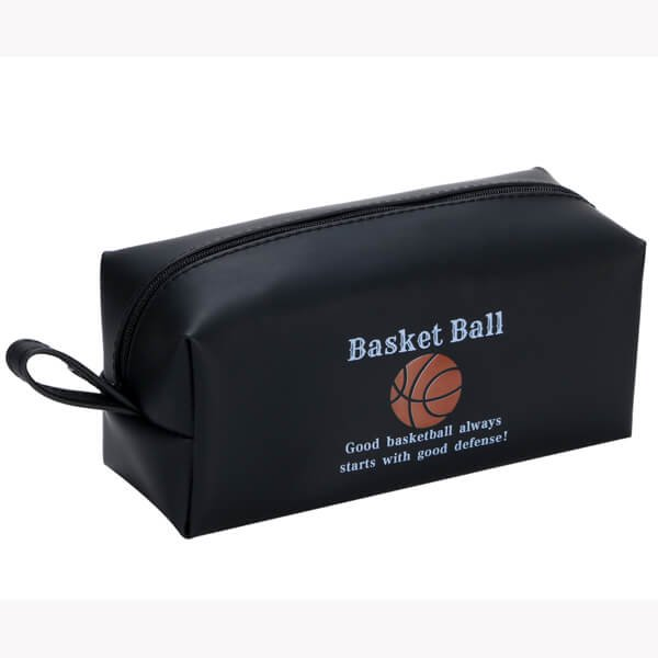 バスケ好きのためのオリジナルブラックペンケース