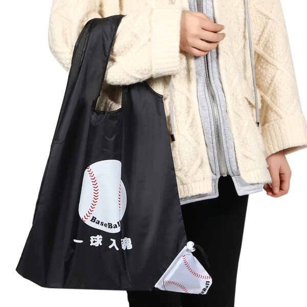 セットがお得 野球のオリジナルエコバッグ 「一球入魂」 単価258円〜