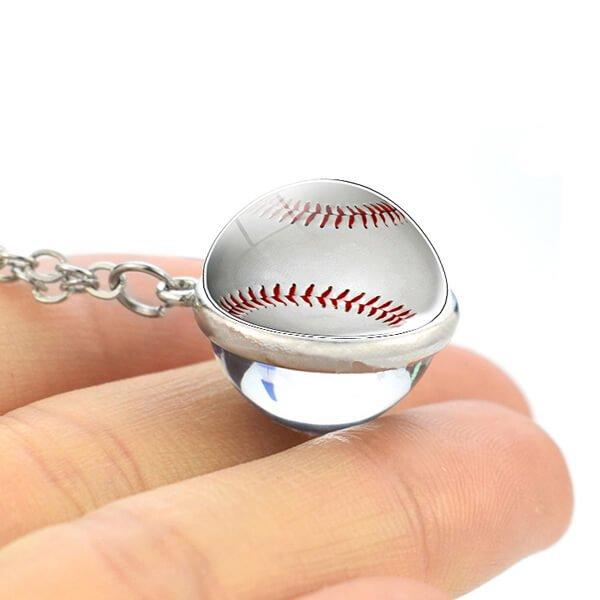 サークル野球ボールネックレス