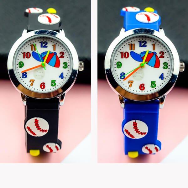 野球ボールがカワイイ 子供用腕時計 1本【画像2】