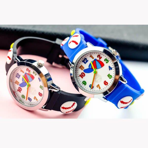 野球ボールがカワイイ 子供用腕時計 1本【画像3】