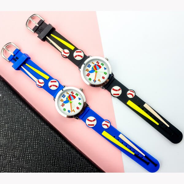 野球ボールがカワイイ 子供用腕時計 1本【画像4】