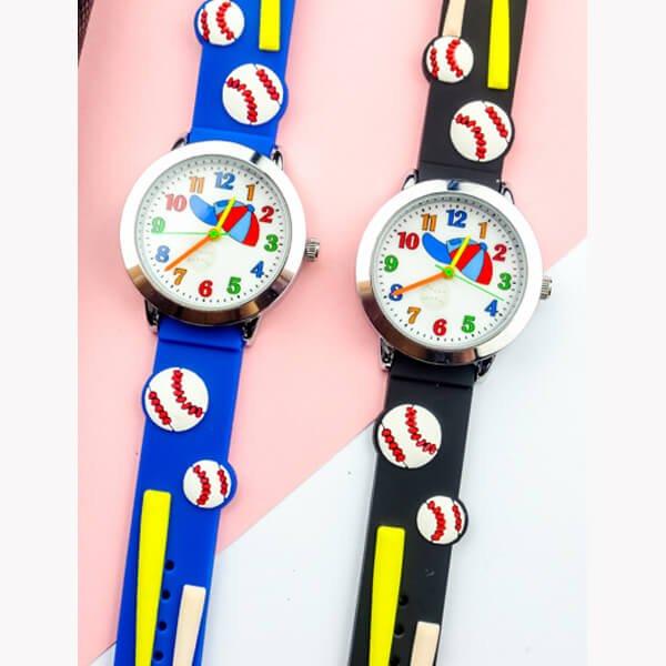 野球ボールがカワイイ 子供用腕時計 1本【画像5】