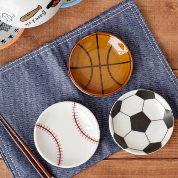 野球柄の可愛いまめ皿(小皿)【画像6】
