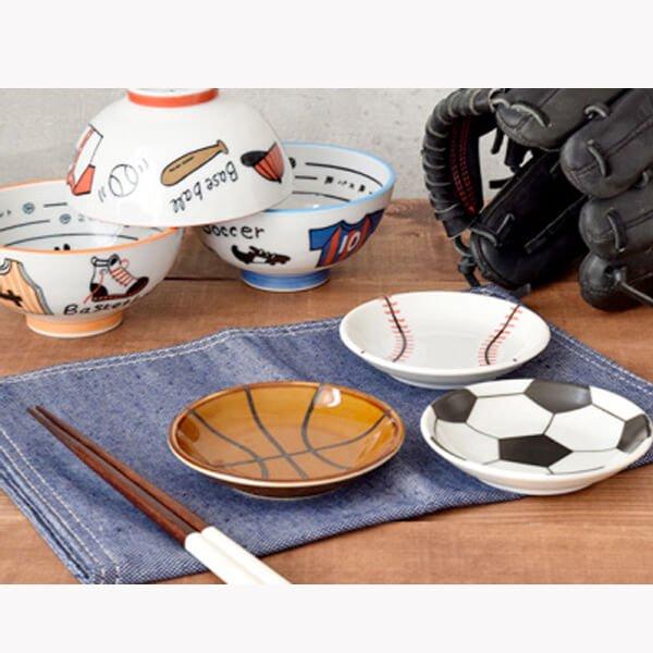 野球柄の可愛いまめ皿(小皿)【画像7】