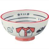 野球のボールグッズ・雑貨  楽しく食事ができる野球柄の子供茶碗