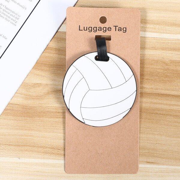 大きいサイズで目立ちやすいバレーボール型のネームワッペン【画像4】