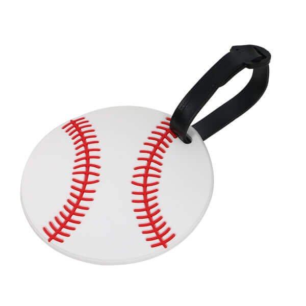 大きいサイズで目立ちやすい野球ボール型のネームワッペン