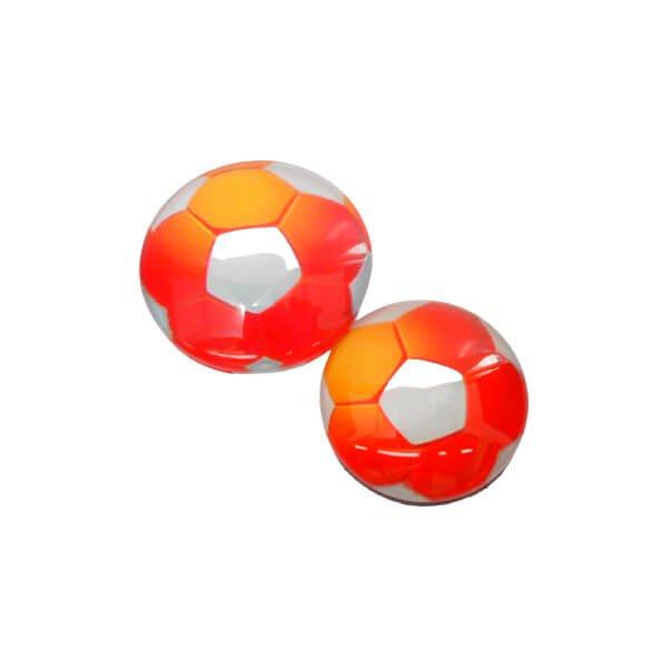 ツヤツヤきれいなクリスタルサッカーマグネット  1個【画像8】