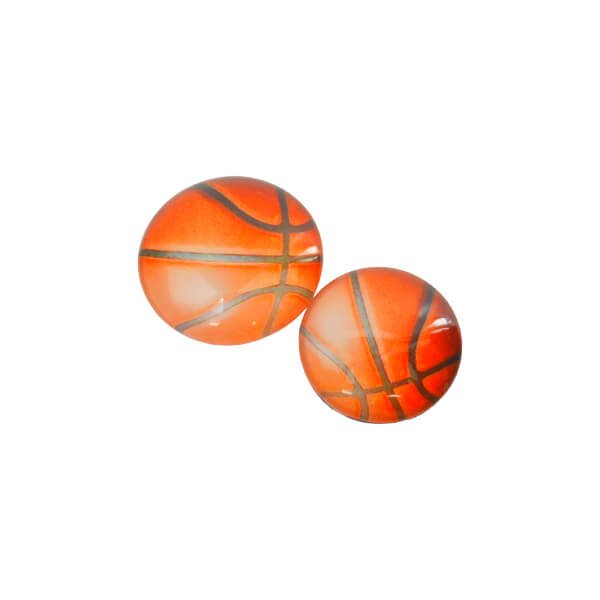 ツヤツヤきれいなクリスタルバスケマグネット  1個