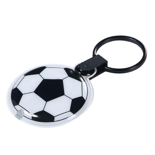 セットでお得 サッカーボールフラットライトキーホルダー 単価184円〜
