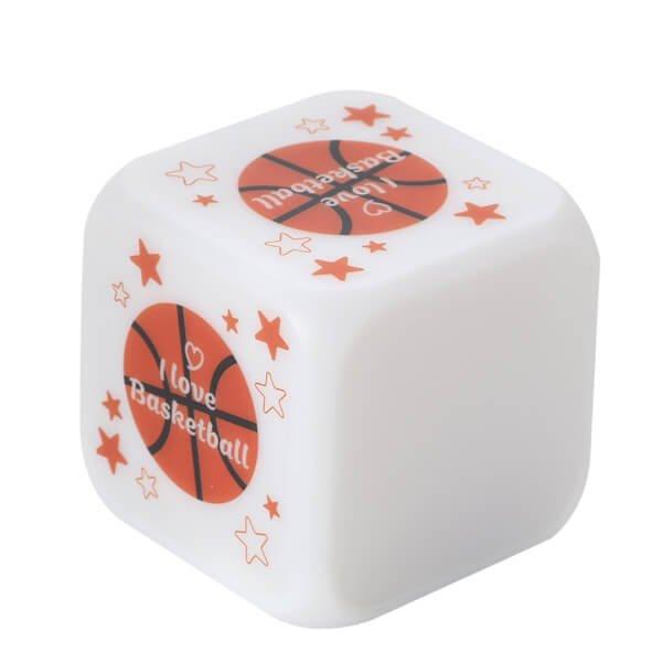 イルミネーション置き時計 ポップなバスケ柄 (スヌーズ機能付き)【画像3】