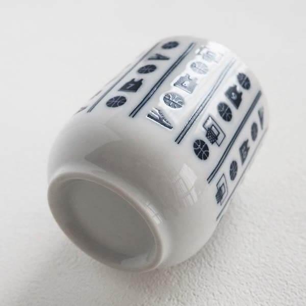 セットがお得! オリジナルバスケ柄 ミニ湯呑(湯のみ)  単価620円〜【画像6】