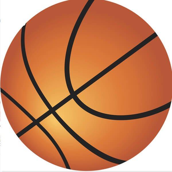 バスケットボール型マット グラデーションタイプ【画像4】