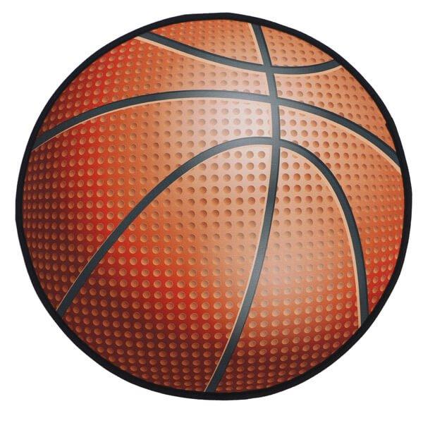 バスケットボール型マット 点々があるリアルタイプ【画像2】