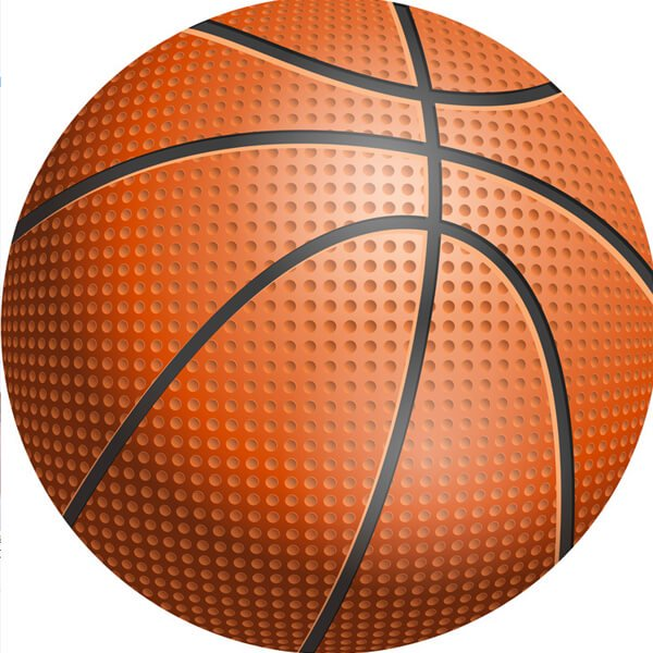 バスケットボール型マット 点々があるリアルタイプ【画像3】