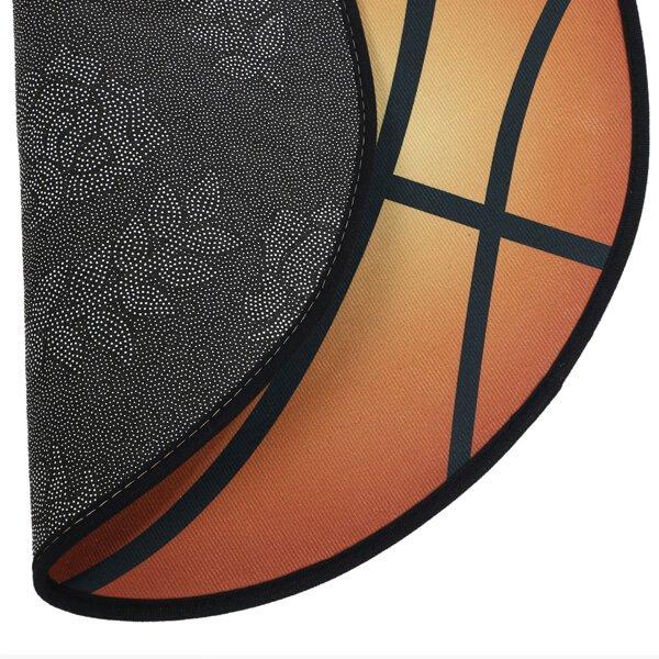 バスケットボール型マット 点々があるリアルタイプ【画像4】