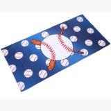 野球のボールグッズ・雑貨  野球好きのためのロングタオル 野球ボールがたくさん