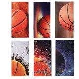 バスケットボール好きのためのベッドカバーセット(ベッドカバー1枚、枕カバー2枚)