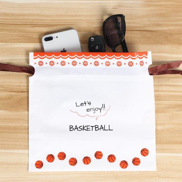 プレゼント用オリジナルラッピング袋 バスケットボール柄【画像4】