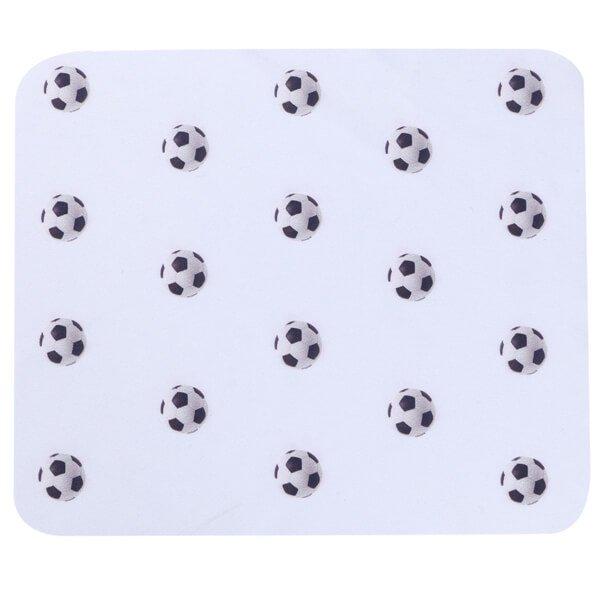 サッカーボールがたくさん マイクロファイバークロス(液晶クリーナー)1枚
