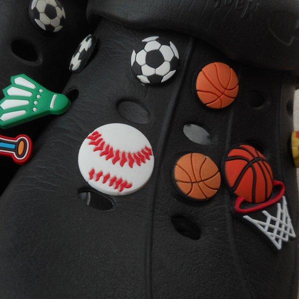 スポーツサンダルアクセサリー バスケットゴールタイプ 1個【画像2】