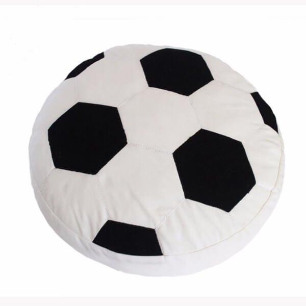 カバーが洗える大きいサッカーボールクッション 1個【画像3】