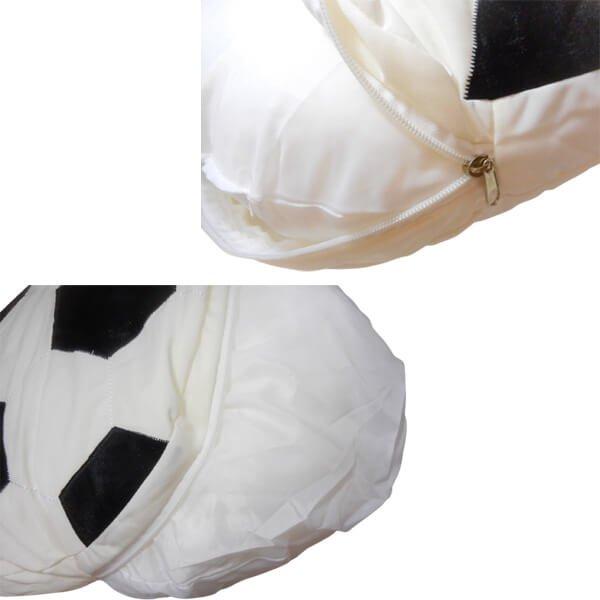 カバーが洗える大きいサッカーボールクッション 1個【画像4】