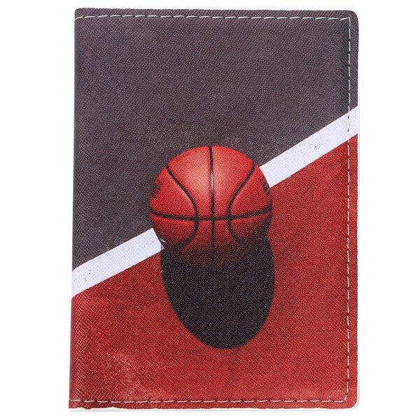 パスポートも入るマルチカードケース バスケットボール柄【画像7】