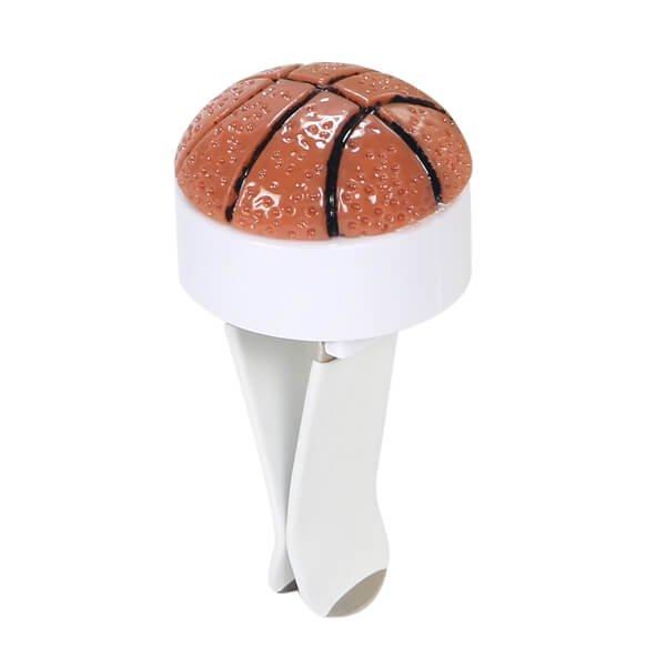 車用芳香消臭ボール バスケットボールタイプ