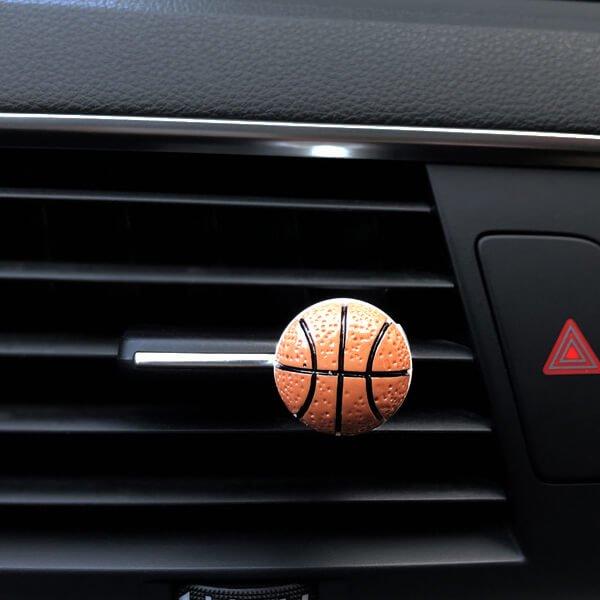 車用芳香消臭ボール バスケットボールタイプ【画像2】