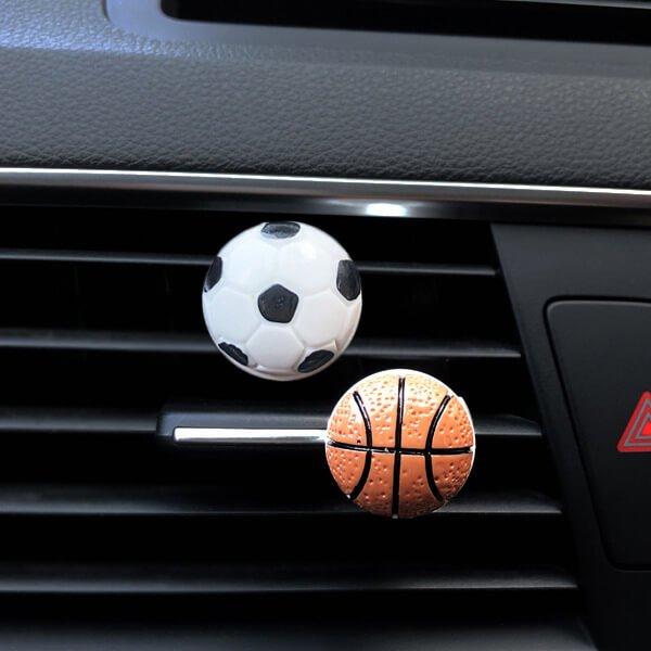 車用芳香消臭ボール バスケットボールタイプ【画像4】