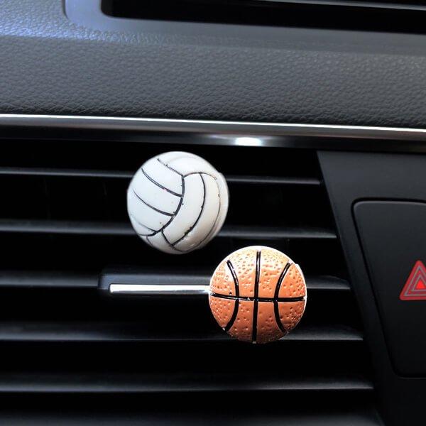 車用芳香消臭ボール バスケットボールタイプ【画像6】