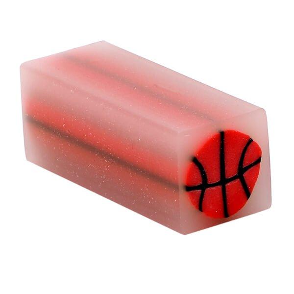 どこを切ってもバスケットボール 金太郎飴みたいなミニ消しゴム 1個【画像3】